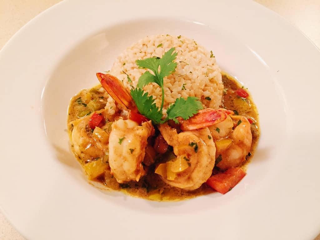 Curry Coconut Shrimp